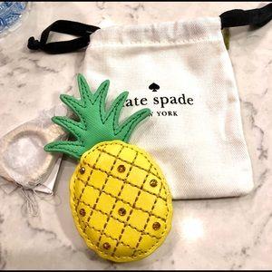 Kate Spade NWT Pineapple Key Chain NWT